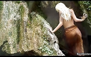 Emma goes deep in the woods - BAREMAIDENS