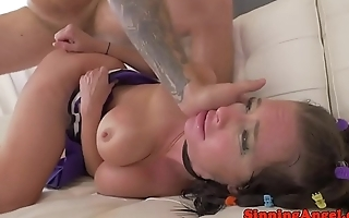 MILF pornstar buttfucked by younger flannel