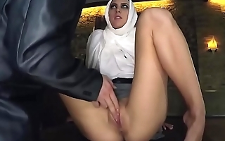Ultimate arab bitch handles brutal dicking like a good whore-2