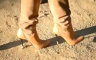 Best Belgian Moms Flashing in Boots. see pt2 at goddessheelsonline.co.uk