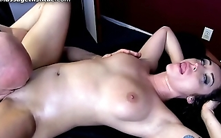 Christiana Cinn Gets Erotic Massage and Happy Ending