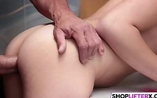 Faked Dick Punishment For Teen Thief Avi
