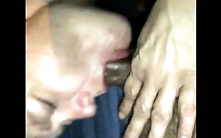head from white milf nearly car part 1
