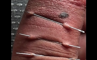 solobdsmman 7 -i play with needle and my foreskin