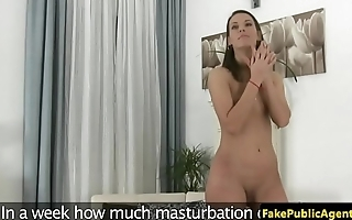 Amateur euro babe doggystyled at sexaudition