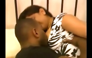 Indian housewife v Black cock (Homemade)