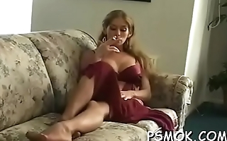 Oral sex pleasant with a smoke