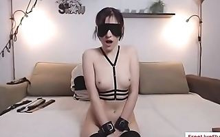 Kinky GF gets pussy licked and spanked