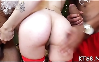 Fancy shelady in a wild anal act