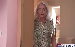 Hot Blonde MILF Fucks Sexy Cleaner(Kathy Anderson &amp_ Vicky Love) 01 vid-08