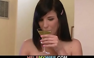 His sexy young wife takes fresh cock